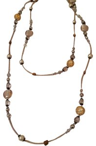 Other extra long multi design beads necklace