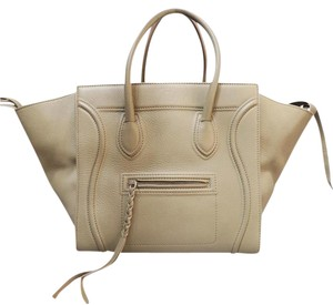 Céline Phantom Grey Tote in Tan