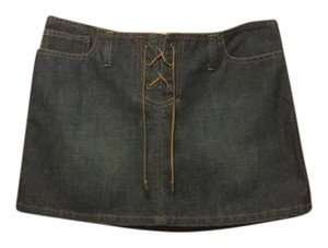 Abercrombie & Fitch Mini Skirt denim