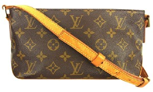 Louis Vuitton Trotteur Strap Leather Strap Vintage Cross Body Bag