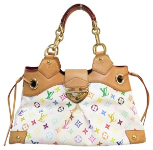 Louis Vuitton Lv Canvas Ursula Tote Shoulder Bag