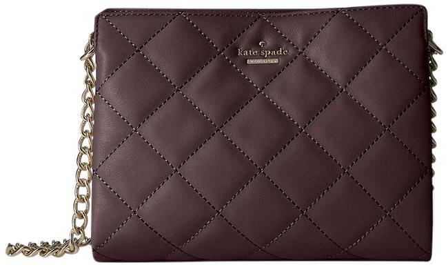Item - New York Emerson Place-mini Phoebe Dark Mahogany Quilted Leather Shoulder Bag