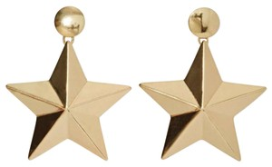 Nasty Gal 3-D Gold Star Power Sunburst Earrings