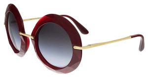 Dolce&Gabbana Dolce & Gabbana Ruby Round Faceted Sunglasses