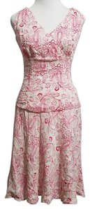 Anne Klein short dress White and Pink on Tradesy