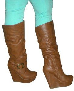 Bamboo CHESTNUT/ TAN Boots