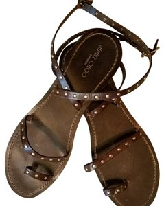 Jimmy Choo dark brown Sandals