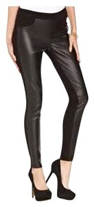 Tinseltown Large Faux Faux Leather Jeggings-Dark Rinse
