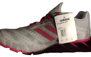 Adidas Springblade Sneakers Size 8.5 grey and pink Athletic