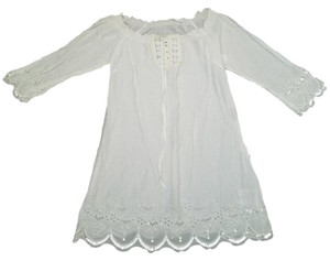 Guess short dress White on Tradesy