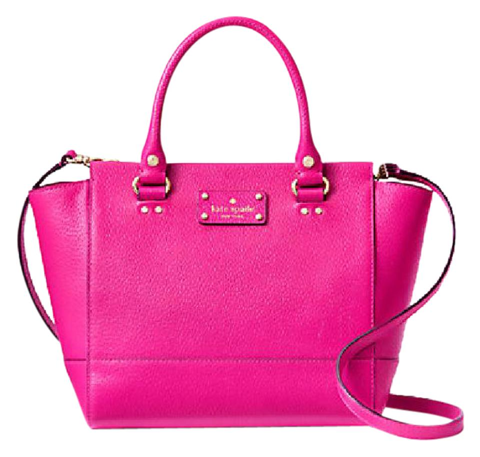 15c1d90ef1ed2 Kate Spade Leather Small Camryn Satchel in SWEETHEART PINK Image 0 ...