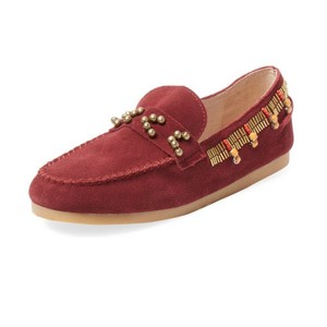 House of Harlow 1960 wine red Flats