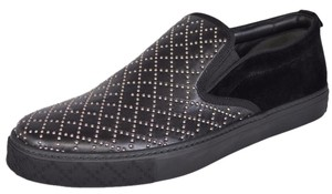 Gucci Men's Loafers Slip On Black Athletic