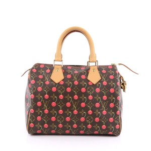 Louis Vuitton Speedy Cerises Limited Edition Satchel