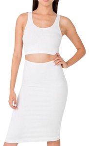 American Apparel Skirt White