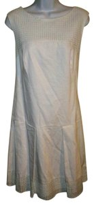 Ann Taylor short dress White Sleeveless 12 on Tradesy