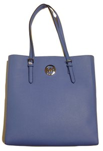 Michael Kors Blue Jet Set Travel Tote in Oxford Blue