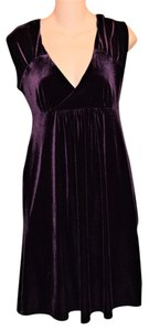 Michael Stars Empire Waist Velvet Dress