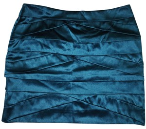 Diane von Furstenberg Mini Skirt dark teal