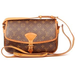 Louis Vuitton Monogram Canvas Sologne Leather Cross Body Bag