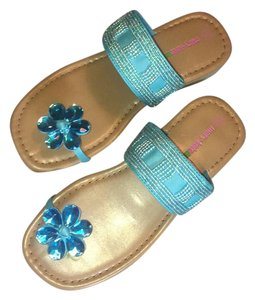 Mary Kate & Ashley Aqua Blue Sandals