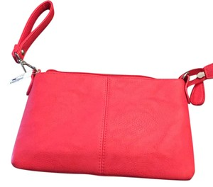 Charming Charlie Wristlet in hot pink