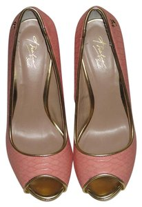 Thalia Sodi Coral Pink Heels Wedding Formal Pink Coral Pumps