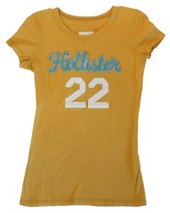 Hollister T Shirt Yellow