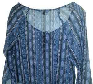 American Eagle Outfitters Top Blue/Purple