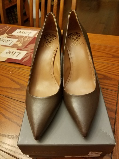 Vince Camuto Brown Pumps