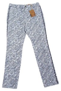 Coldwater Creek Slim Printed Casual Straight Leg Jeans
