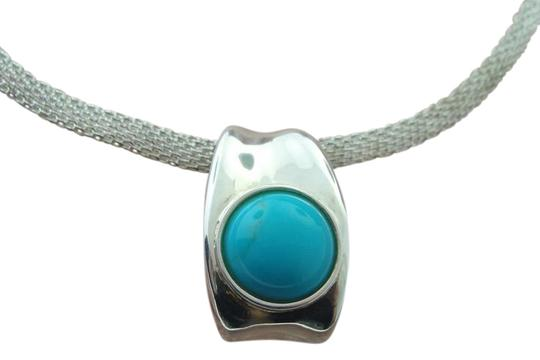 Preload https://img-static.tradesy.com/item/21244014/curved-turquoise-pendant-sterling-silver-necklace-0-1-540-540.jpg