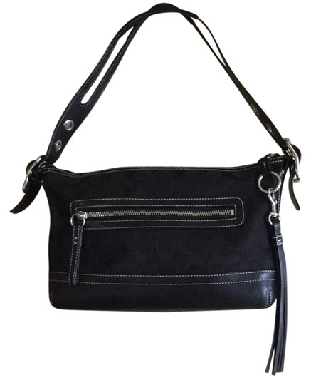 Preload https://img-static.tradesy.com/item/21244038/coach-black-signature-fabric-and-leather-shoulder-bag-0-1-540-540.jpg