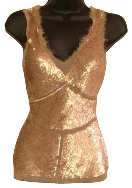 Preload https://item5.tradesy.com/images/arden-b-brown-sequin-night-out-top-size-8-m-2124419-0-0.jpg?width=400&height=650
