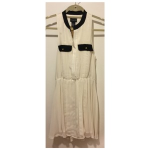 Central Park West short dress Ivory on Tradesy