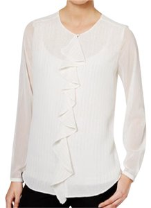 Tommy Hilfiger Top Ivory, Gold, White