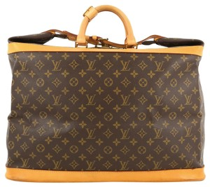 Louis Vuitton Cruiser Handbag Monogram Canvas Brown Travel Bag