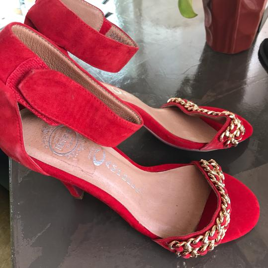 Jeffrey Campbell red Formal