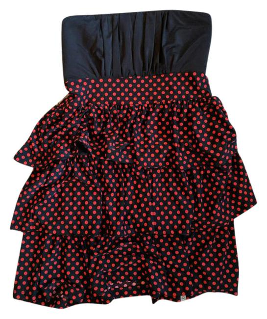 Preload https://img-static.tradesy.com/item/21244431/black-and-red-polkadot-short-cocktail-dress-size-8-m-0-1-650-650.jpg