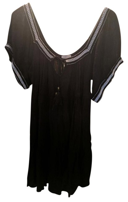 Preload https://img-static.tradesy.com/item/21244443/forever-21-black-boho-short-casual-dress-size-8-m-0-1-650-650.jpg