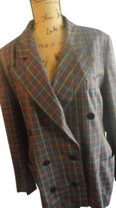 Escada VTG Escada Margaretha Ley Blazer Size 42multi-colo double breasted 100