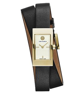 Tory Burch Buddy Signature Double Wrap Watch TRB2005