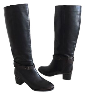 Vince navy blue/brown Boots