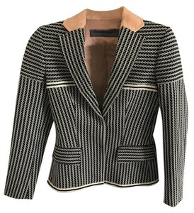 Emanuel Ungaro Black and White Blazer