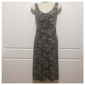 Tory Burch short dress Brown & White on Tradesy