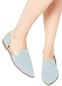 ASOS Denim Summer light blue Flats