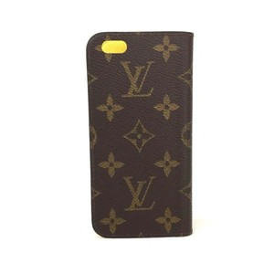 Louis Vuitton Louis Vuitton Monogram Luxury iPhone 6 / 6s Folio Yellow Phone Case