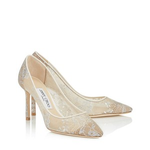 Jimmy Choo Romy 85 In Wedding Ivory Wedding Shoes