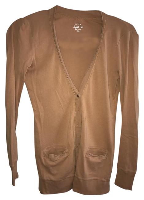 Preload https://img-static.tradesy.com/item/21245208/jcrew-brown-perfect-fit-mixed-in-english-saddle-cardigan-size-2-xs-0-1-650-650.jpg