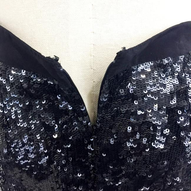 Tracy Reese Sequin Lined Skirt Black